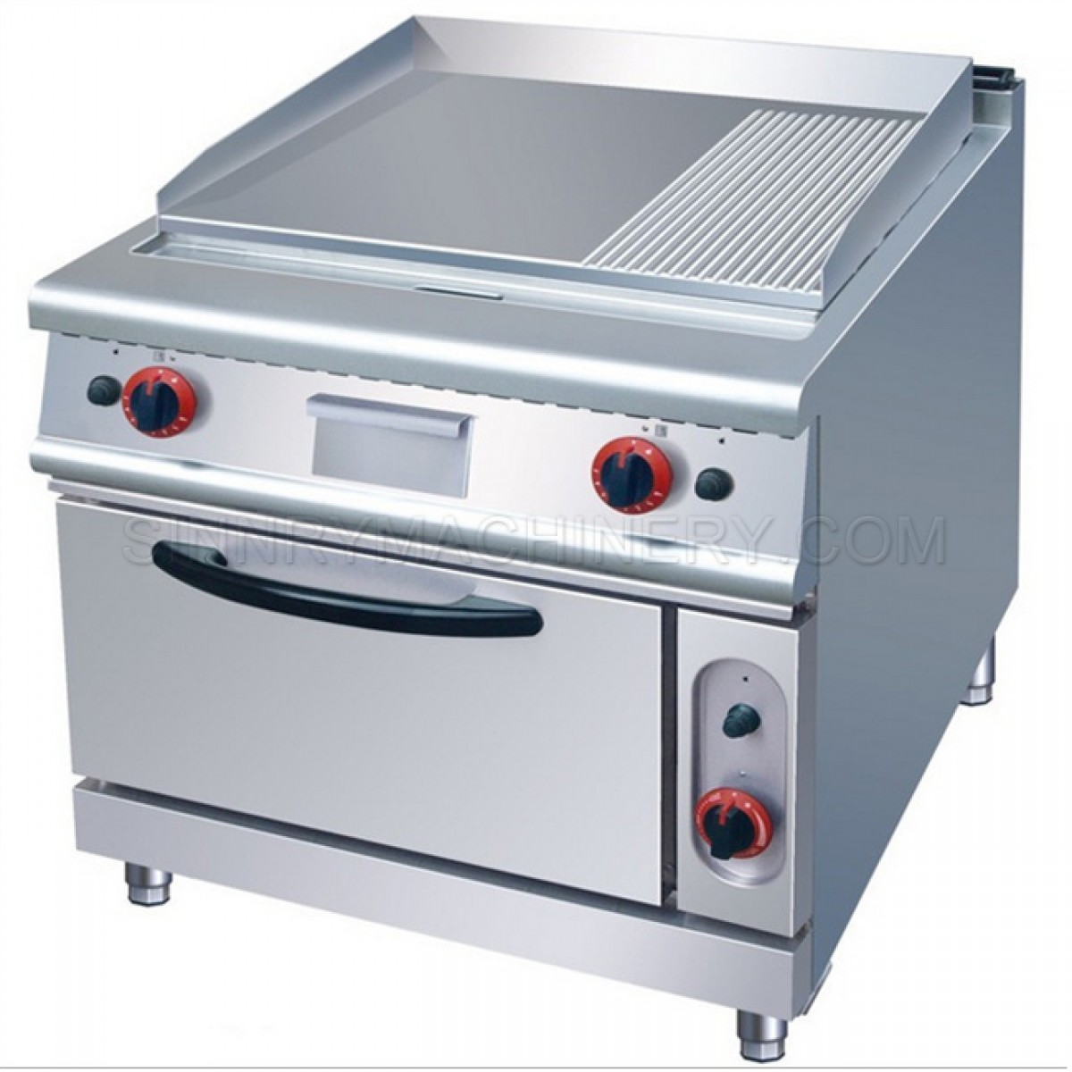 Griddle with Oven - Gas, 17.6 KW, SN-CRG104B