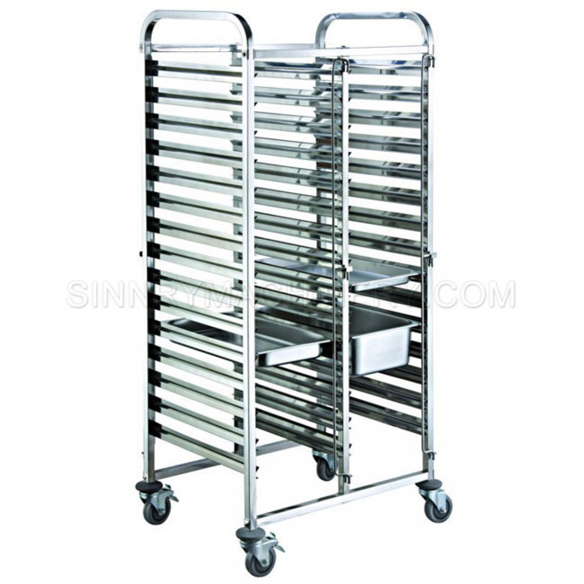 Bakery Rack 15 Trays 1 0mm L Letter Sn Br09a